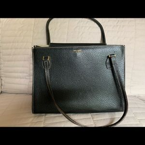 MADE IN ITALY Kate Spade Gen.Leather Black Sam Bag
